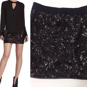 Black BCBG Sequin Skirt Size XSmall